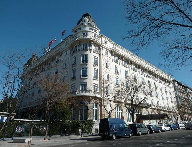 Hotel Ritz Madrid Los 10 hoteles más caros de España