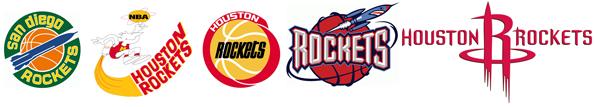 Houston Rockets logo history La historia y la evolución del logotipo de los Houston Rockets