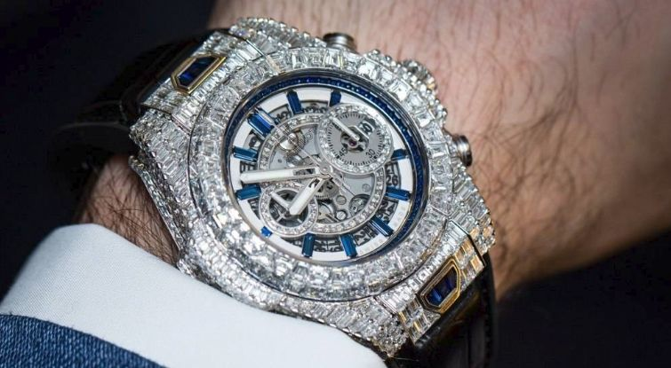Hublot Big Bang Diamond Wrist Watch Una mirada más cercana al reloj de diamantes Hublot Big Bang de $ 5 millones