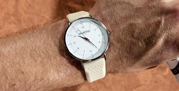 Reloj Moderno ecológico de Hurtig Lane