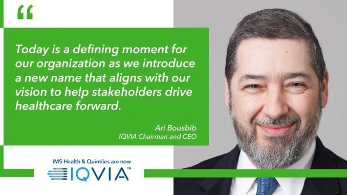 IQVIA Bousbib 10 cosas que no sabías sobre el director ejecutivo de IQVIA Holdings, Ari Bousbib