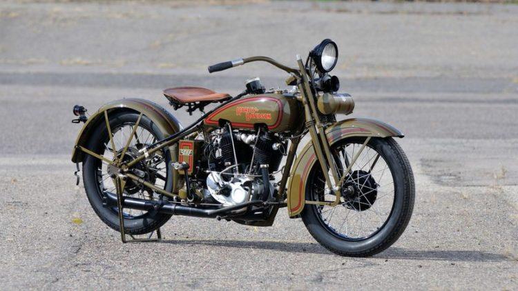"""JH """"Two Cam"""" 1928 Las 10 motocicletas Harley Davidson más caras"""
