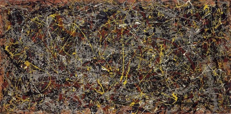 Jackson Pollock.bmp Las 10 pinturas más caras de todos los tiempos