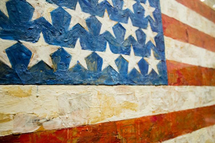 Jasper Jag Flag Las 10 pinturas más caras de todos los tiempos