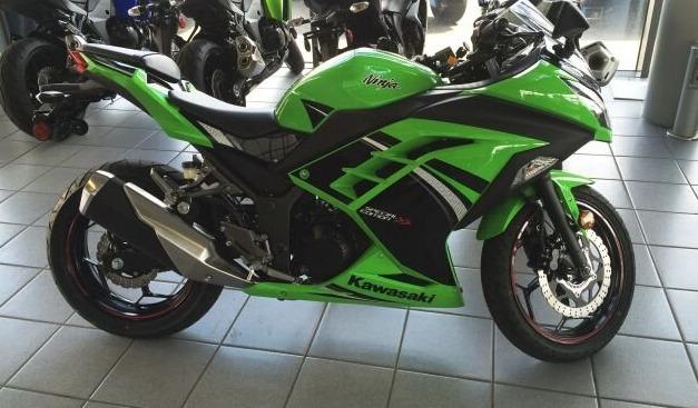 Kawasaki Ninja 300 Las 10 mejores motocicletas para principiantes