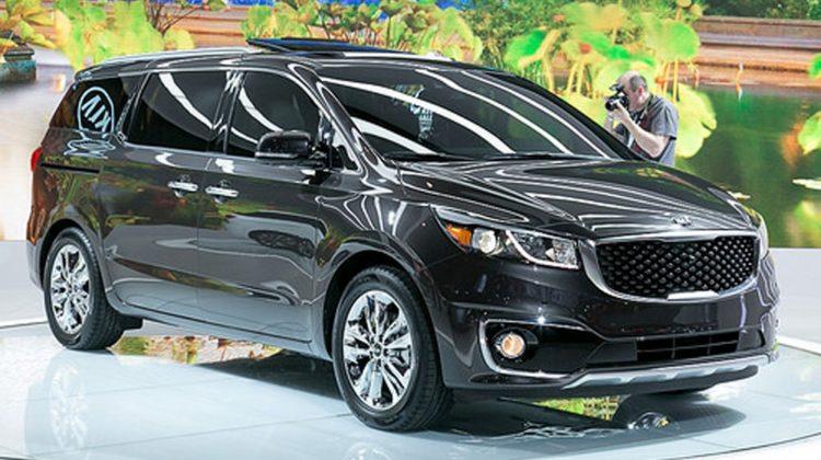 Kia sedona Las diez minivans mejor valoradas de 2017