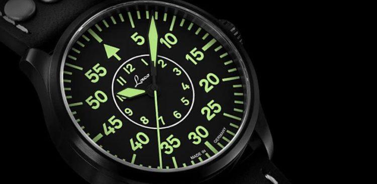 Reloj piloto Bielefeld de Laco Man
