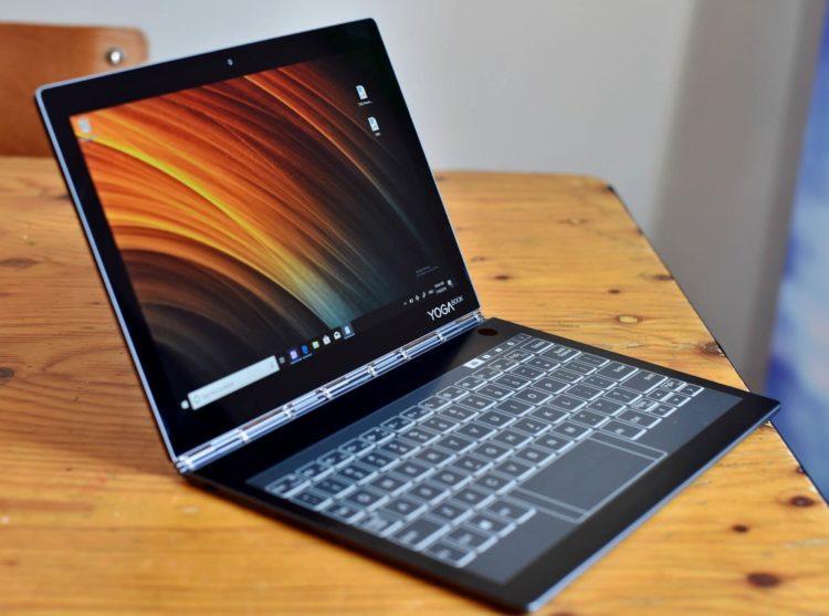 Lenovo Yoga Book C930 Las cinco mejores tabletas Lenovo del mercado actual