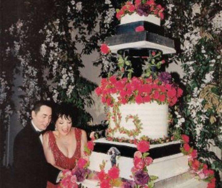 Liza Minnellis wedding cake Los pasteles de boda más caros de la historia