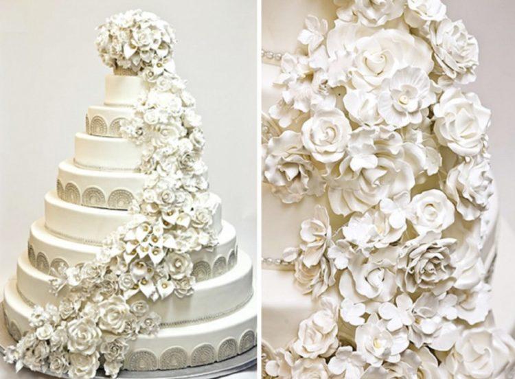 Luxury Bridal show cake 1 Los pasteles de boda más caros de la historia