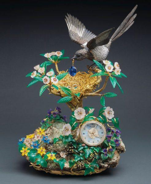 Magpie treasure clock Los 5 relojes más caros jamás vendidos en una subasta