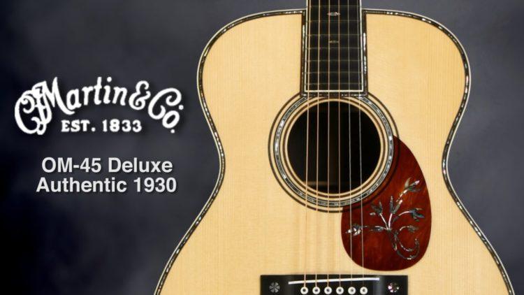 Martin OM 45 Deluxe Las guitarras acústicas más caras jamás vendidas