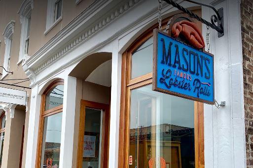 Rollos de langosta famosos de Mason