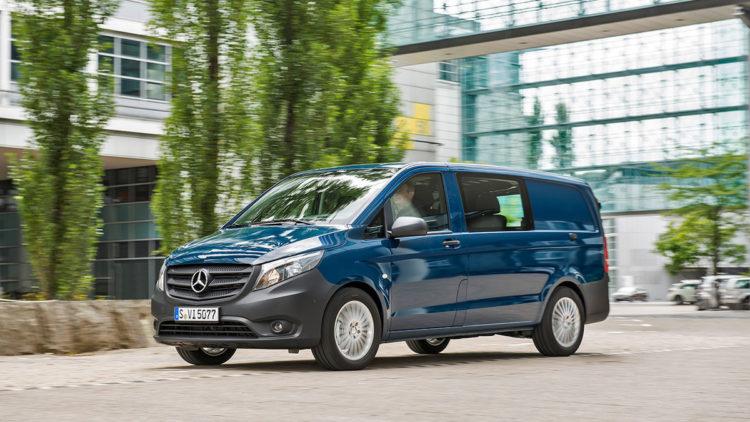 Mercedes Benze Metris Las diez minivans mejor valoradas de 2017