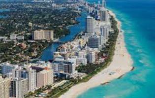 Miami .Las 20 ciudades más ricas de Florida 2021