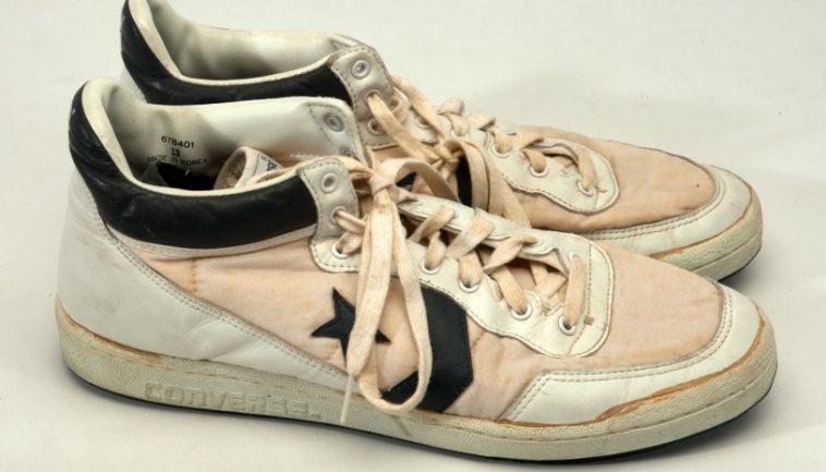 Michael Jordans Game Worn Converse Fastbreak Las 20 zapatillas deportivas más caras de todos los tiempos