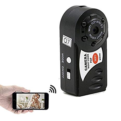 Mini WiFi digital video recorder camera with night vision Las cinco mejores cámaras mini-espía del mercado actual