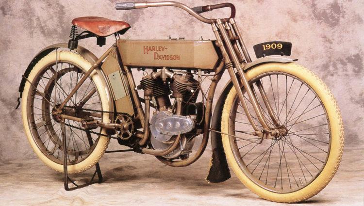 Model 5 D Twin 1909 Las 10 motocicletas Harley Davidson más caras