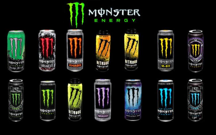 Monster energy drink Las bebidas energéticas más caras del mercado actual