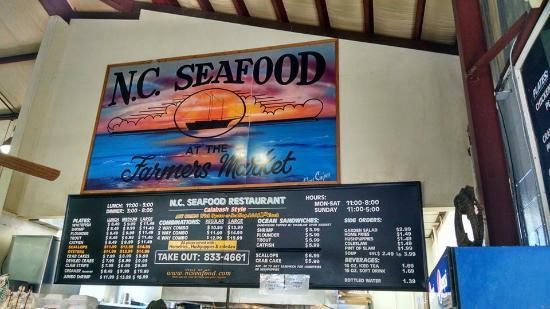 Restaurante de mariscos NC