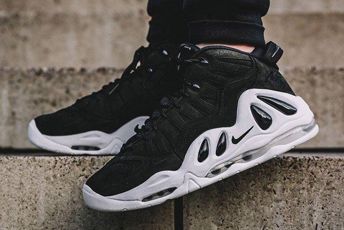 NIKE AIR UPTEMPO 97 BLACK WHITE 2 Las cinco mejores zapatillas Nike Uptempo del mercado actual
