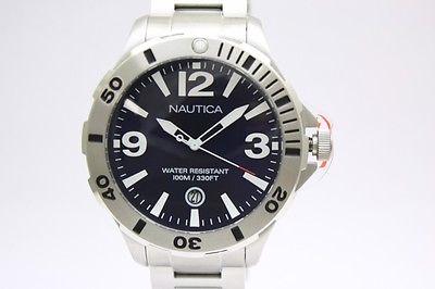 New Nautica Men BFD 101 Diver Steel Blue 1 Los cinco mejores relojes Nautica del mercado actual