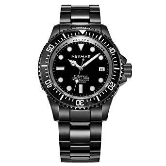Neymar Automatic 1000M Dive Watch with Helium Release Valve Los 5 mejores relojes Neymar del mercado actual 2021