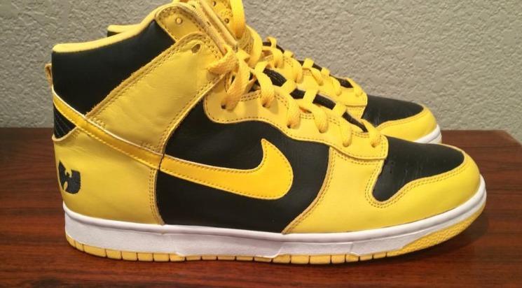 Nike Dunk High LE WU TANG Una mirada más cercana a la Nike Dunk High LE de $ 15,000 (Wu Tang)