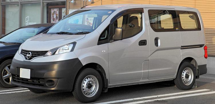 Nissan NV200 Vanette Van 001 Las diez minivans mejor valoradas de 2017