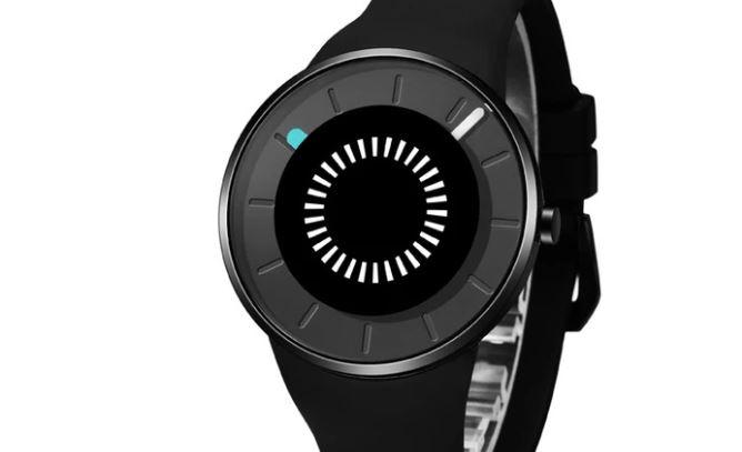 ODM Bouncing Black Reloj de moda para hombre