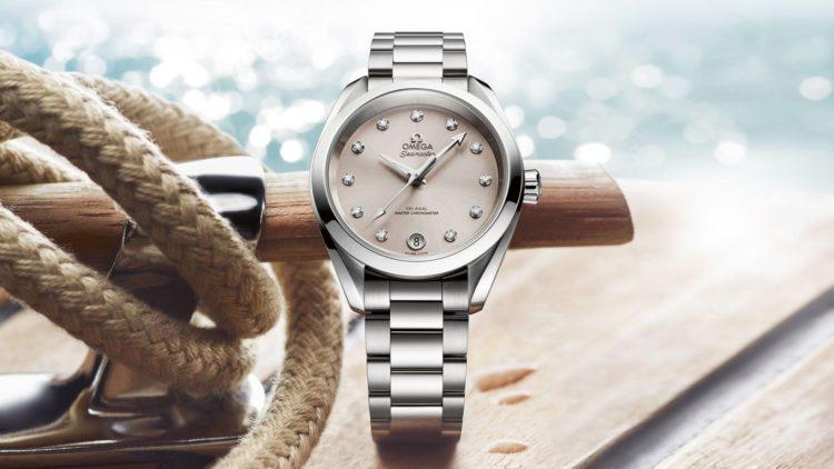 Reloj Seamaster con esfera de nácar