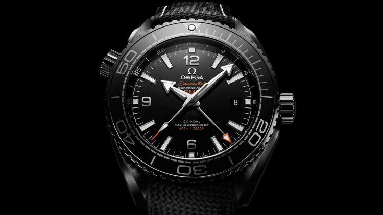 Omega Seamaster Planet Ocean Deep Black Los 20 mejores relojes Omega de todos los tiempos