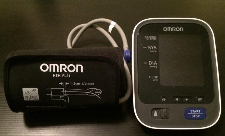Omron Cuff 1 Los cinco mejores monitores de presión arterial del mercado actual
