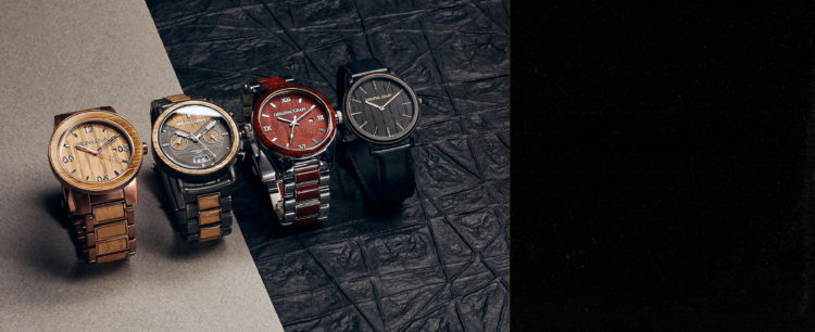 Reloj original Grain Altera Chrono KOA Stonewashed para hombre
