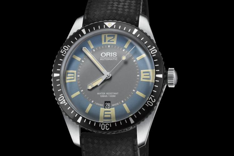 Oris Divers Sixty Five Grey and Deauville Blue 4 Los 10 mejores relojes mecánicos de 2018