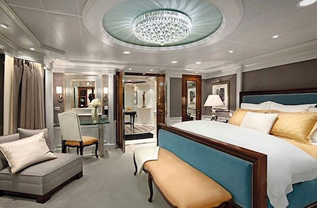 Suites del propietario en Oceania Cruises