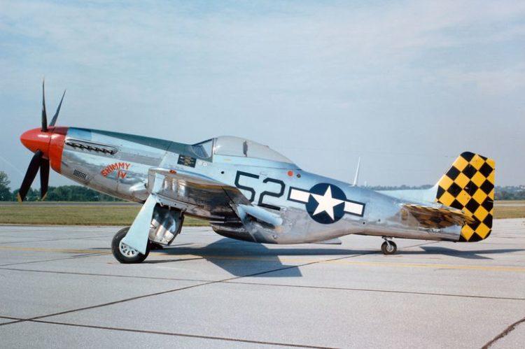 P 51D Mustang 56a61a9c3df78cf7728b58ef Los 10 aviones de la Segunda Guerra Mundial más reconocidos de la historia