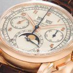 Patek Philippe Perpetual Calendar Chronograph Wristwatch in Pink Gold Una mirada más cercana al reloj de pulsera cronógrafo Patek Philippe Perpetual Calendar de $ 2,28 millones en oro rosa