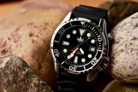 Reloj de buceo Phoibos PX005B 1000M para hombre