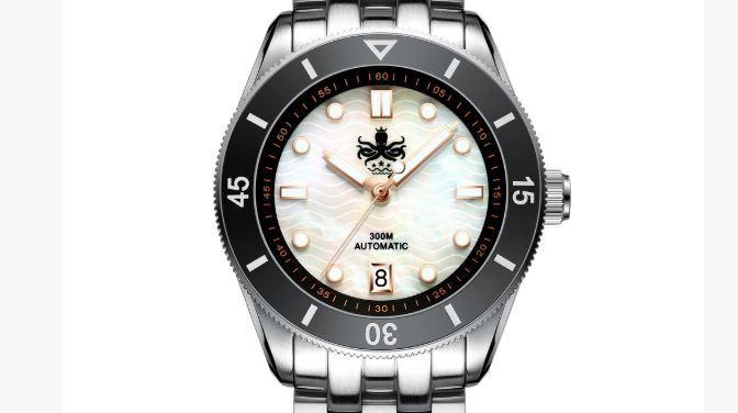 Reloj de buceo automático Phoibos Wave Master 300M MOP