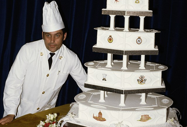 Princess Dianas cake Los pasteles de boda más caros de la historia