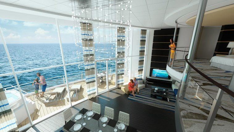 RCI RoyalLoft Angle2 5K Las 10 suites de cruceros más lujosas del mundo