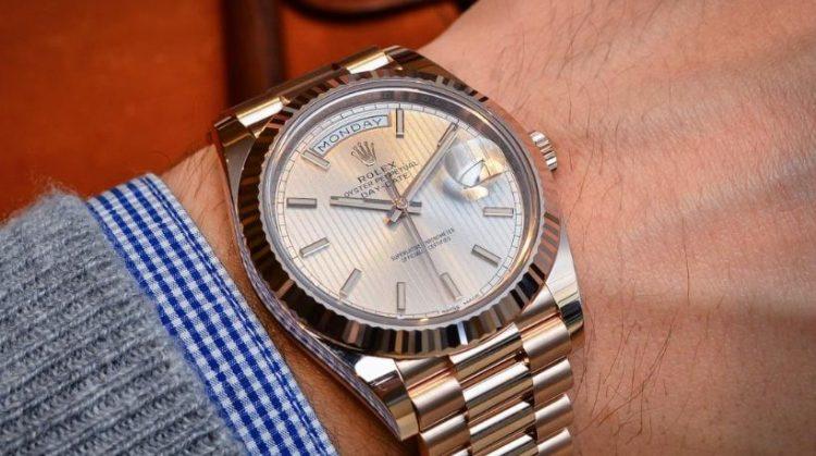 Rolex Day Date 40mm Los cinco mejores relojes con calendario que debe buscar en 2017