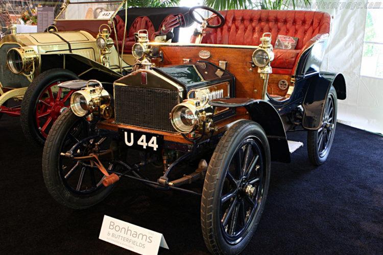 Rolls Royce 10 hp biplaza (1904)