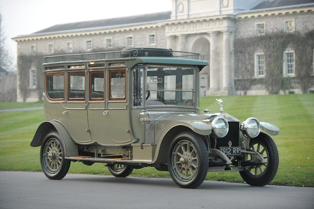 Rolls Royce Double Pullman Silver Ghost Limousine 'The Corgi' (1912)