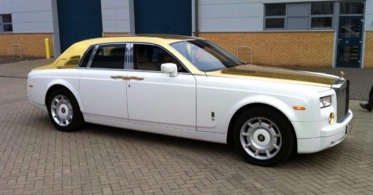 Rolls Royce Phantom Oro macizo