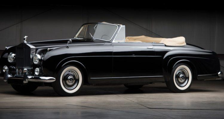 Rolls Royce Silver Cloud I Drophead Coupe (1957) de HJ Mulliner