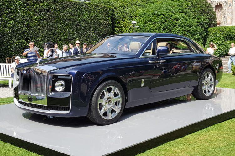 Rolls Royce Sweptail 1 Los 20 modelos Rolls Royce más caros jamás vendidos