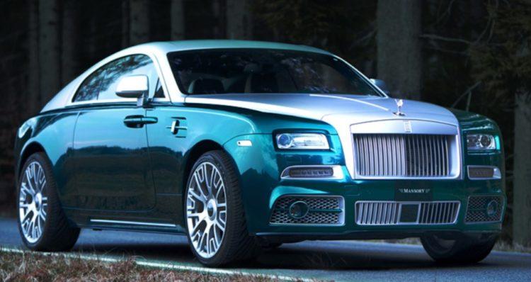 Rolls Royce Wraith Mansory (2014)