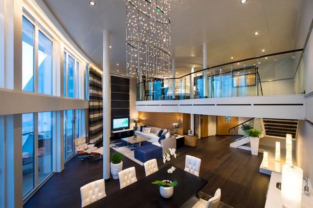Suite Royal Loft en Quantum of the Seas de Royal Caribbean